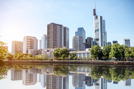 Frankfurt am Main cityscape Stock Photo - 81047619
