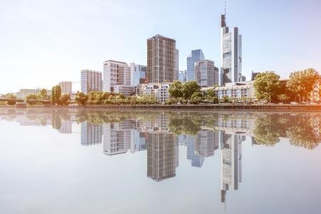 フランクフルト ・ アム ・ マイン都市景観