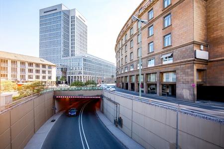 Street view in Frankfurt city Stock Photo - 80972000