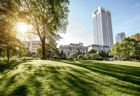 Park in Frankfurt Reklamní fotografie