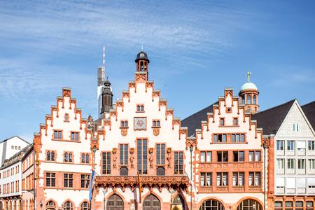 フランクフルトの旧市庁舎