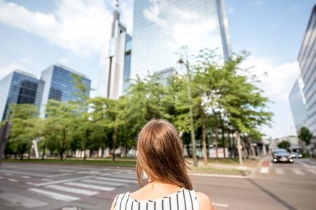 brussel: Woman in Brussel
