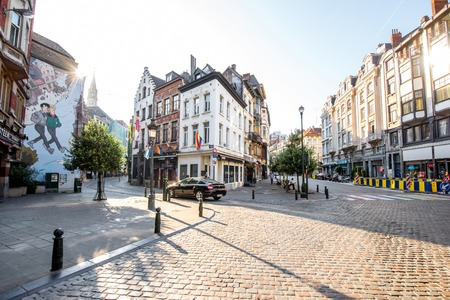 ブリュッセルのストリート ビュー