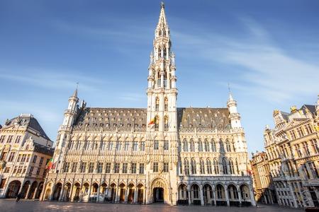 ブリュッセル市中心部の広場 写真素材 - 81147897