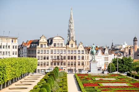 bruxelles: Arts Mountain square in Brussels