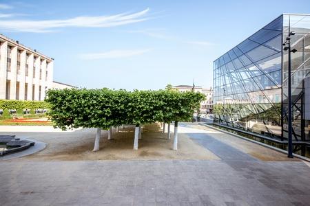ブリュッセルでの芸術山広場