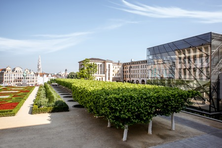 Arts Mountain square in Brussels