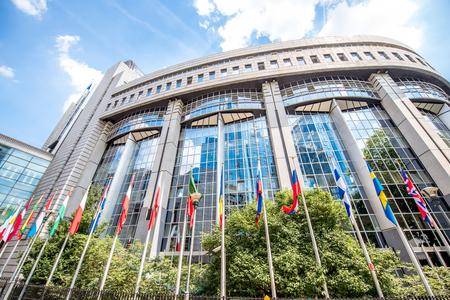 ブリュッセルの欧州議会