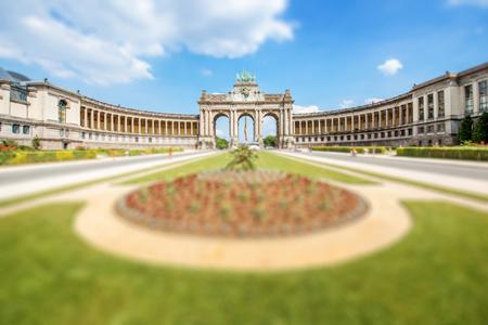 Arc de triomphe à bruxelles Banque d'images - 81170886