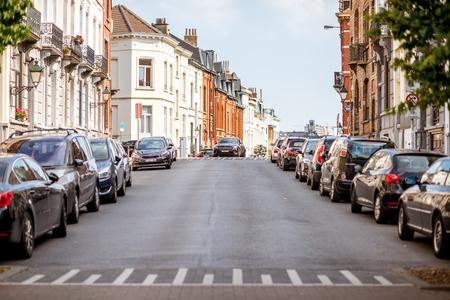 bruxelles: Street view in Brussels