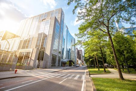 브뤼셀 시내의 금융 지구