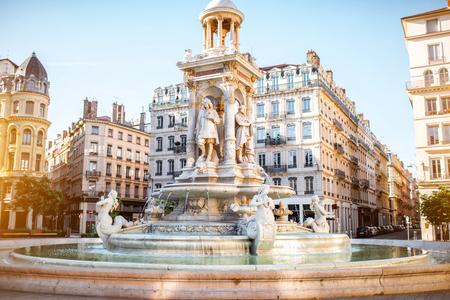 Lyon city in France Stock Photo