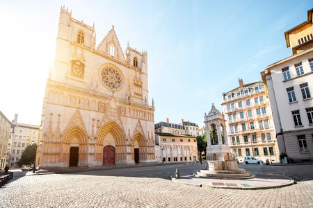 Lyon city in France Stock Photo - 81408915