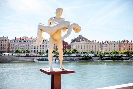 Lyon stad in Frankrijk