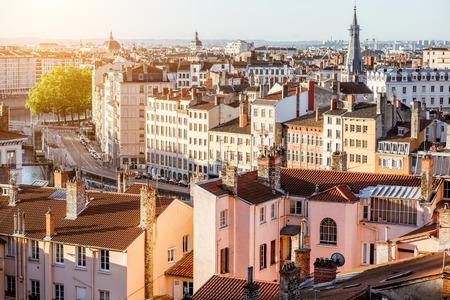 Lyon city in France Stock fotó