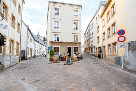 The old town of Luxembourg city Editorial