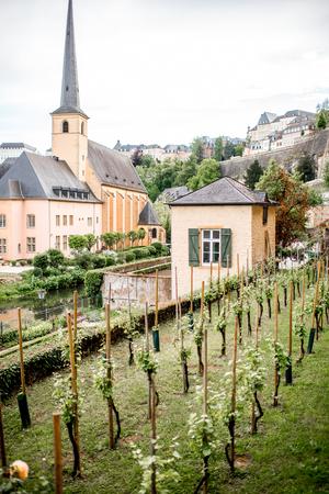De oude stad van Luxemburg stad
