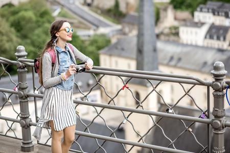 룩셈부르크 여행 여성