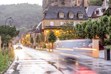 La Roque Gageac village in France