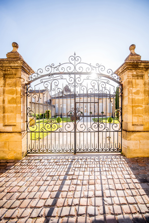 Beautiful french gates