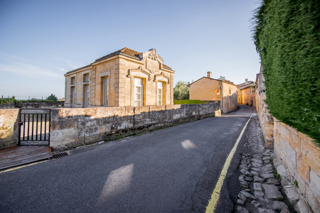 Saint Emilion village Stock Photo