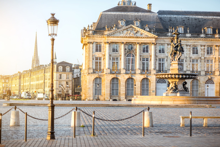 Bordeaux stad in Frankrijk