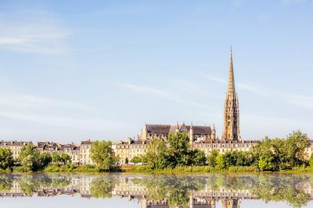フランスのボルドー市 写真素材