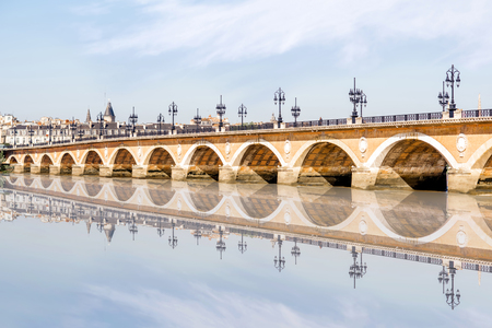 Bordeaux city in France Stock Photo - 81789042