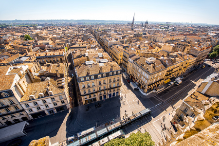 프랑스 보르도 도시 스톡 콘텐츠
