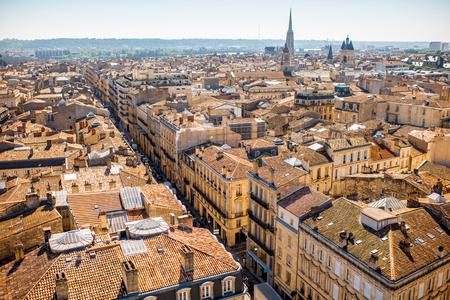 Bordeaux city in France