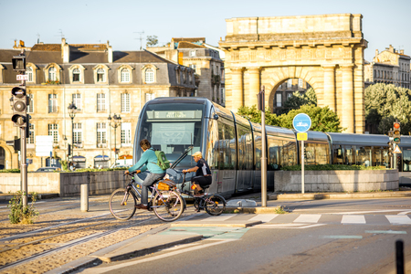 Life in Bordeaux city