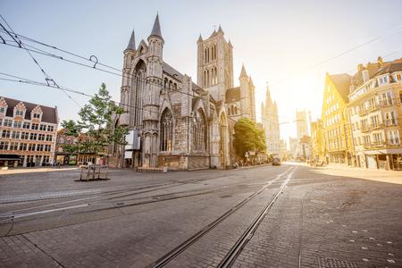 Gent city en Belgique Banque d'images - 81933356