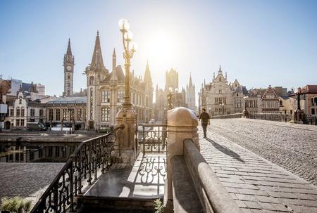 Gent city in Belgium