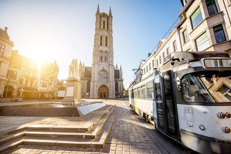 frans: Gent city in Belgium