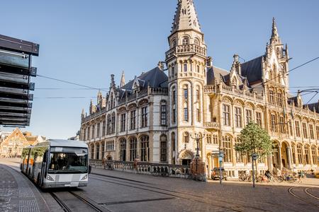 Gent city in Belgium Stock Photo - 81933601