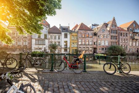 Gent city en Belgique Banque d'images - 81933602