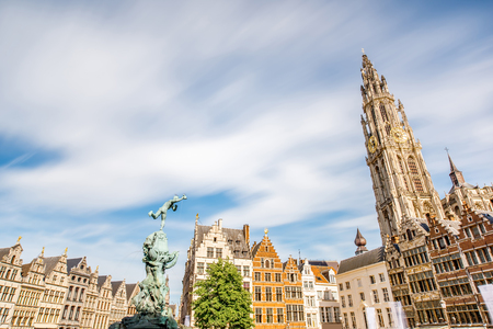 Antwerpen city in Belgium