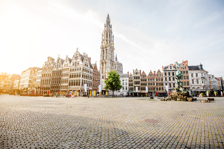 Antwerpen city in Belgium
