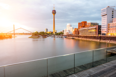 Dusseldorf city in Germany