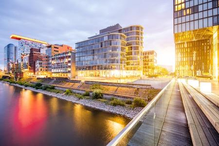 Dusseldorf city in Germany Banco de Imagens - 82244519