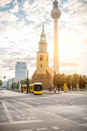 ベルリン シティー ビュー 写真素材