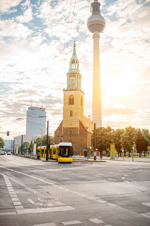 Berlin city view 版權商用圖片 - 82243142