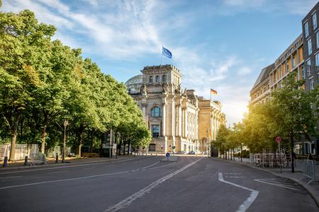 Uitzicht op de stad Berlijn Stockfoto - 82228492