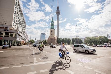 Life in Berlin city