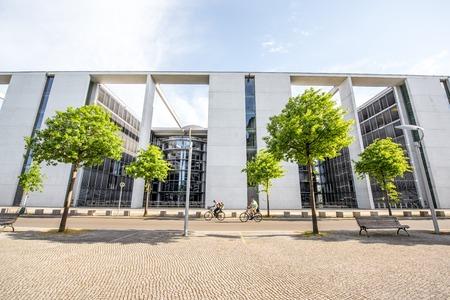 Parlementsgebouw in Berlijn Redactioneel