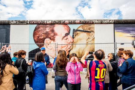 베를린 벽 예술 에디토리얼