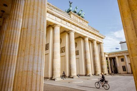Brandenburg gates in Berlin Editorial