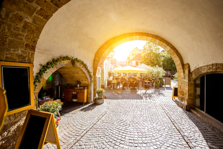 giles: Erfurt city in Germany Stock Photo