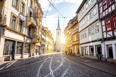 Erfurt city in Germany Banco de Imagens - 82317441