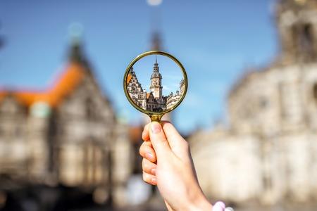Dresden Stadt in Deutschland Standard-Bild - 82480596